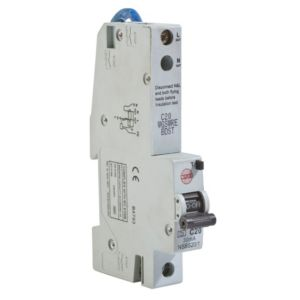View Wylex 20A Single Pole RCBO details