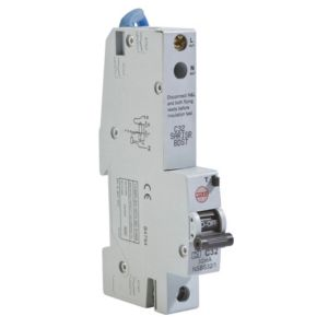 View Wylex 32A SP RCBO details