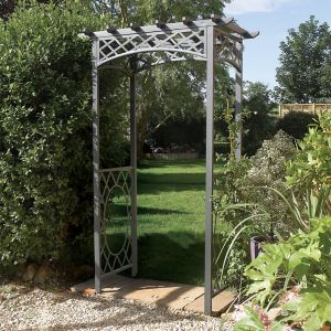 View Wrenbury Metal Arch - Assembly Required details