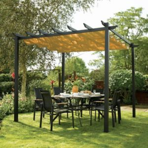 View Rowlinson Latina Metal Free Standing Canopy - Assembly Required details
