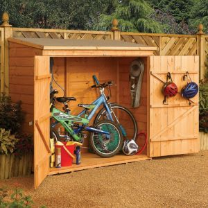 View Rowlinson 6X3 Pent Roof Shiplap Timber Shed - Assembly Required details