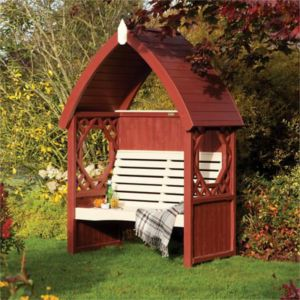 View Bramble Wooden Arbour - Assembly Required details