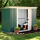 8X4 Greenvale Pent Metal Shed Best Price, Cheapest Prices