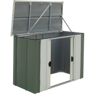 View Greenvale 4X2 Pent Metal Shed - Assembly Required details