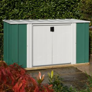 View Greenvale 6X3 Pent Metal Shed details