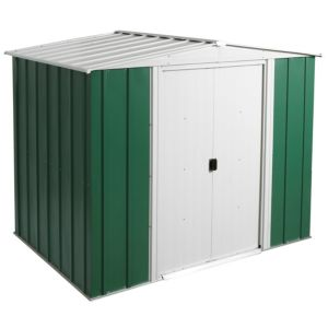 View Greenvale 8X6 Apex Metal Shed - with Assembly Service details