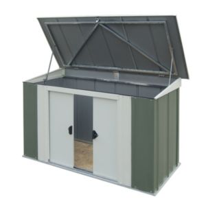 View Greenvale 6X3 Pent Metal Shed - with Assembly Service details