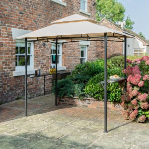 View Rowlinson Metal & Plastic BBQ Gazebo - Assembly Required details