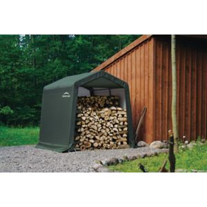 Image of 8x8 Shelterlogic Apex Spring Shed In A Box
