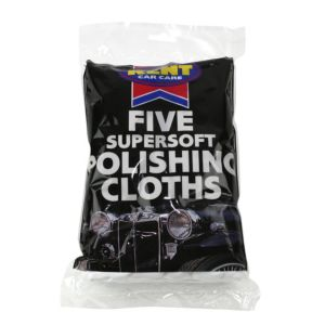 View Kent Car Care Cotton Polishing Cloth, Pack of 5 details