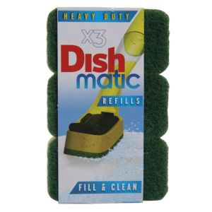 View Dishmatic Scouring Pad, Pack of 3 details