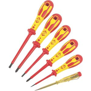View C.K Slotted Screwdriver, Set of 6 details