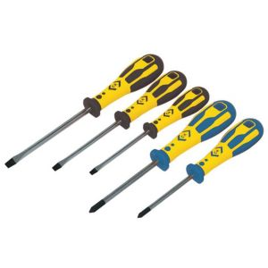 View C.K Dextro Slotted Screwdriver, Set of 5 details