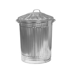 Image of Parasene Silver Dustbin