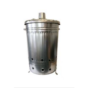 Image of Steel 120L Incinerator (H)760mm (W)460mm