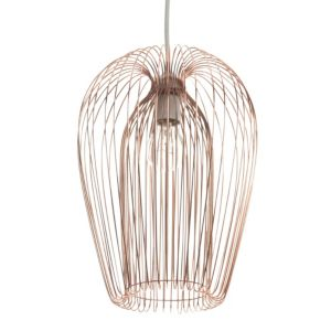 Image of Jonas Copper Wire Light Shade (D)22cm
