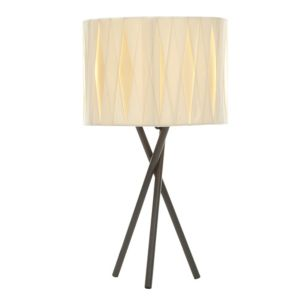 View Acasia Charcoal & Ivory Table Lamp details