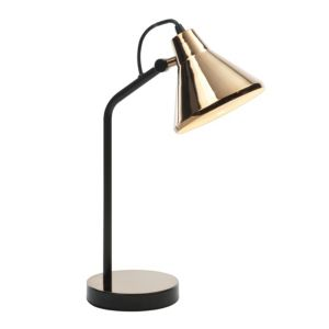View Manison Warm Copper Effect Table Lamp details