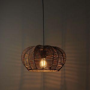 Image of Chevra Matt Brown Pendant Ceiling light