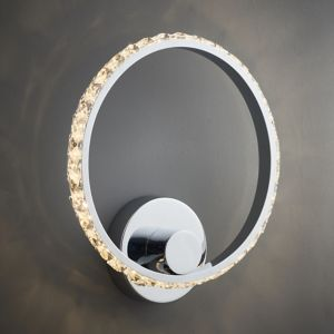 Image of Aura Chrome effect Wall light