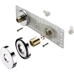 Image of Bristan Shower accessories Standard Wall mount fixing kit