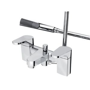 View Bristan Chrome Effect Bath Shower Mixer Tap details