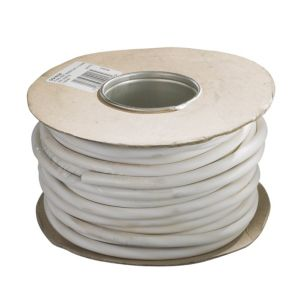 View Tower White Heat Resistant Cable 240V 16Ah 2-Core - 5m details