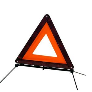 View Autocare PVC Freestanding Warning Triangle (H)392mm (W)425mm details