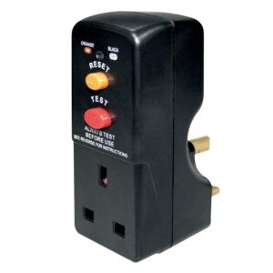 View Masterplug Black 1-Gang 13A Adaptor details