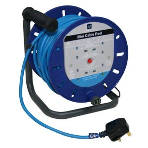 Image of Masterplug 4 socket Cable reel 25m