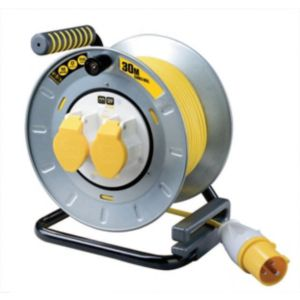 Image of PRO XT 2 socket Cable reel 30m