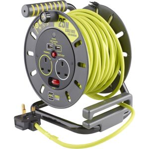 Image of PRO XT 2 socket Cable reel 25m
