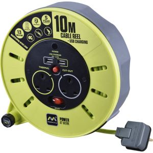 Image of PRO XT 2 socket Cable reel 10m