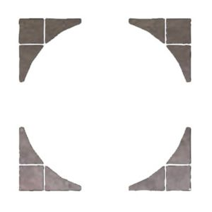 View Weathered Grey Wetherdale Paving Circle Squaring Off Pack, 1.24m² details