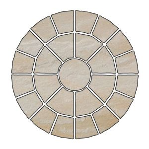 View Bradstone 4.75m² Riven Circular Patio Kit details