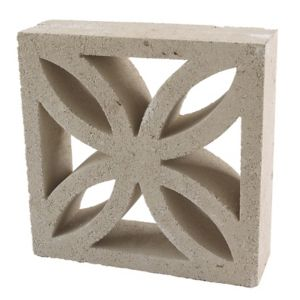 View Leaf Block Traditional Off White Leaf Block, (L)290mm (W)290mm (T)90mm details