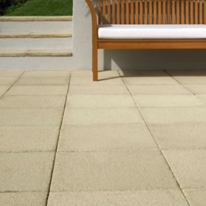View Buff Textured Paving Slab (L)450mm (W)450mm details