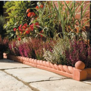 View Traditional Paving Edging Terracotta, (L)60mm (H)270mm (T)60mm details