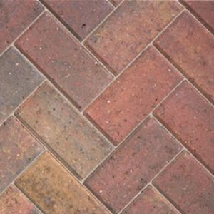 View Autumn Red Driveway Block Paving (L)200mm (W)100mm, 8.08m² details