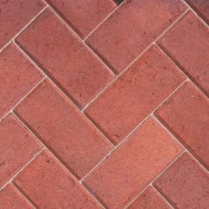 View Burgundy Driveway Block Paving (L)200mm (W)100mm Pack, 8.08m² details