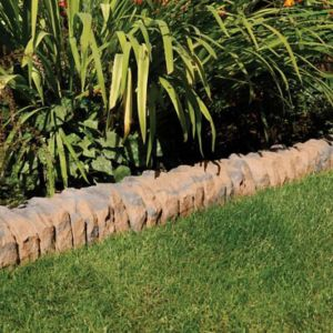 View Traditional Ancestry Paving Edging Abbey Brown, (L)510mm (H)160mm (T)125mm Pack of 30 details
