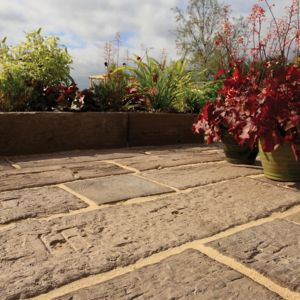 View Brown Timber Effect Paving Slab Pack of 30, 4.98m² details