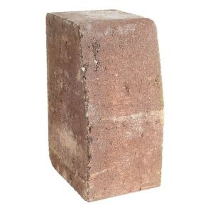Image of Block kerb Red (L)100mm (H)200mm (T)125mm
