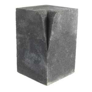 View Bradstone Charcoal Reconstituted Stone Kerb Block (L)125mm (W)125 mmmm (Th)200mm details