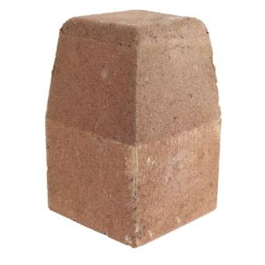 View Bradstone Red Reconstituted Stone Kerb Block (L)125mm (W)125 mmmm (Th)200mm details