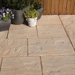 View Antique Cotswold Ashbourne Mixed Size Paving Pack, 5.67m² details