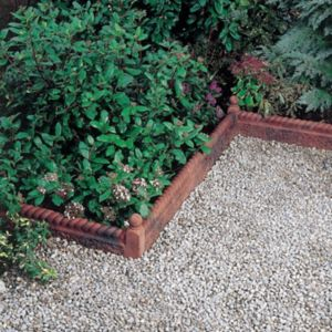 View Rope Top Rustic Edging Rustic Rope Top Edging Is The Perfect Way to Frame A Plant Bed or Pathway, to Achieve A Traditional Look to Any Garden. Antique Red, (L)600mm (H)50mm Of 38 details