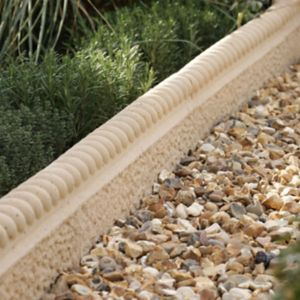 View Rope Top Rustic Edging Rustic Rope Top Edging Is The Perfect Way to Frame A Plant Bed or Pathway, to Achieve A Traditional Look to Any Garden. Old Granite, (L)600mm (H)50mm Of 38 details