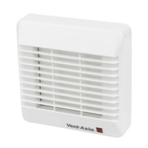 View Vent-Axia White Plastic Bathroom Fan details