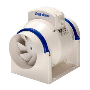 View Vent-Axia White In-Line Fan details
